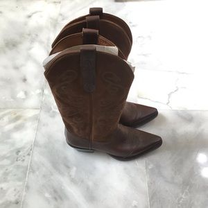 6.5 Nine West Cowgirl boots